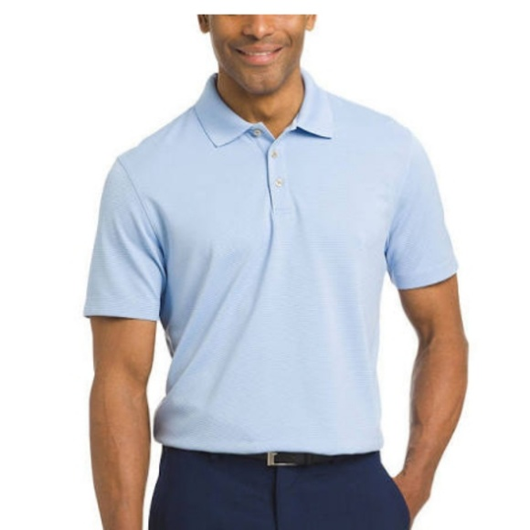 entire collection cheapest details for van heusen Shirts   Short Sleeve Knit Polo Shirt Mens   Poshmark